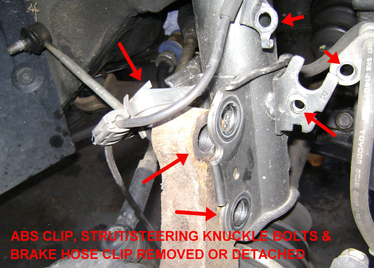 97 camry noise after strut replaced autos post. Black Bedroom Furniture Sets. Home Design Ideas