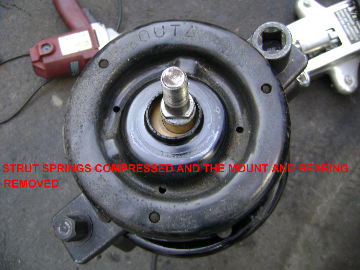 97–'01 Toyota Camry Front-End Noise: Strut Mount and Strut