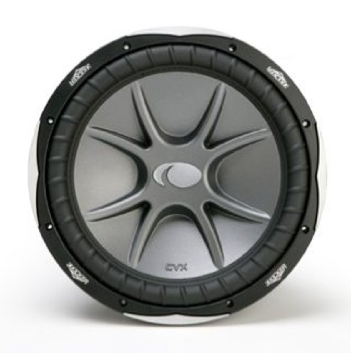 Kicker CompVX 06CVX104 10-Inch 4-Ohm DVC Subwoofer up close