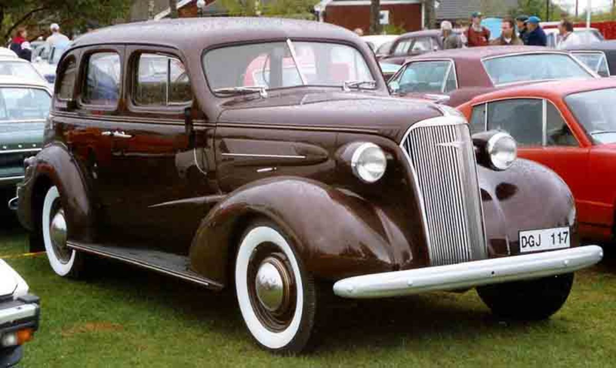 The '37 Chevy was ready for a facelift.