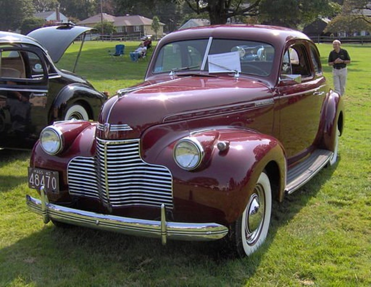 Chevrolet for 1940 was a practical and solid car. Chevy still trailed in styling but that didn't seem to hurt sales -- Chevy outsold Ford from 1938 to 1942.
