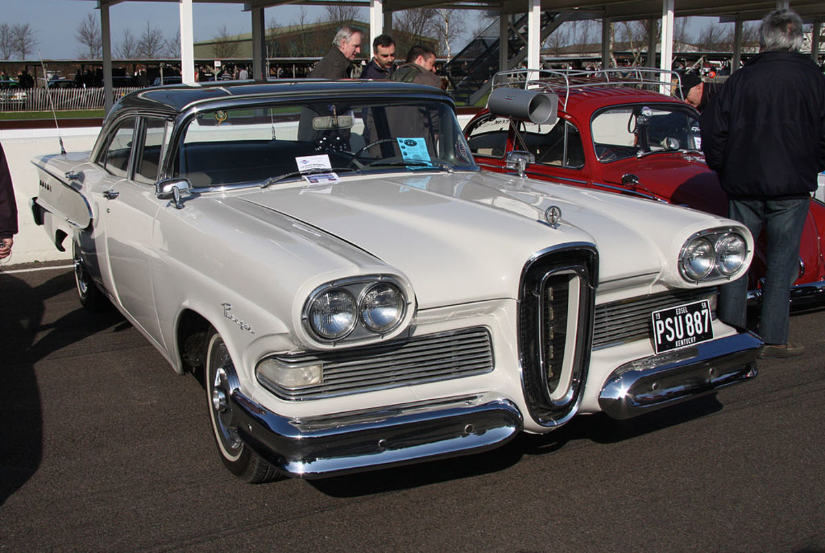 '58 Edsel ... That just about says it all ...