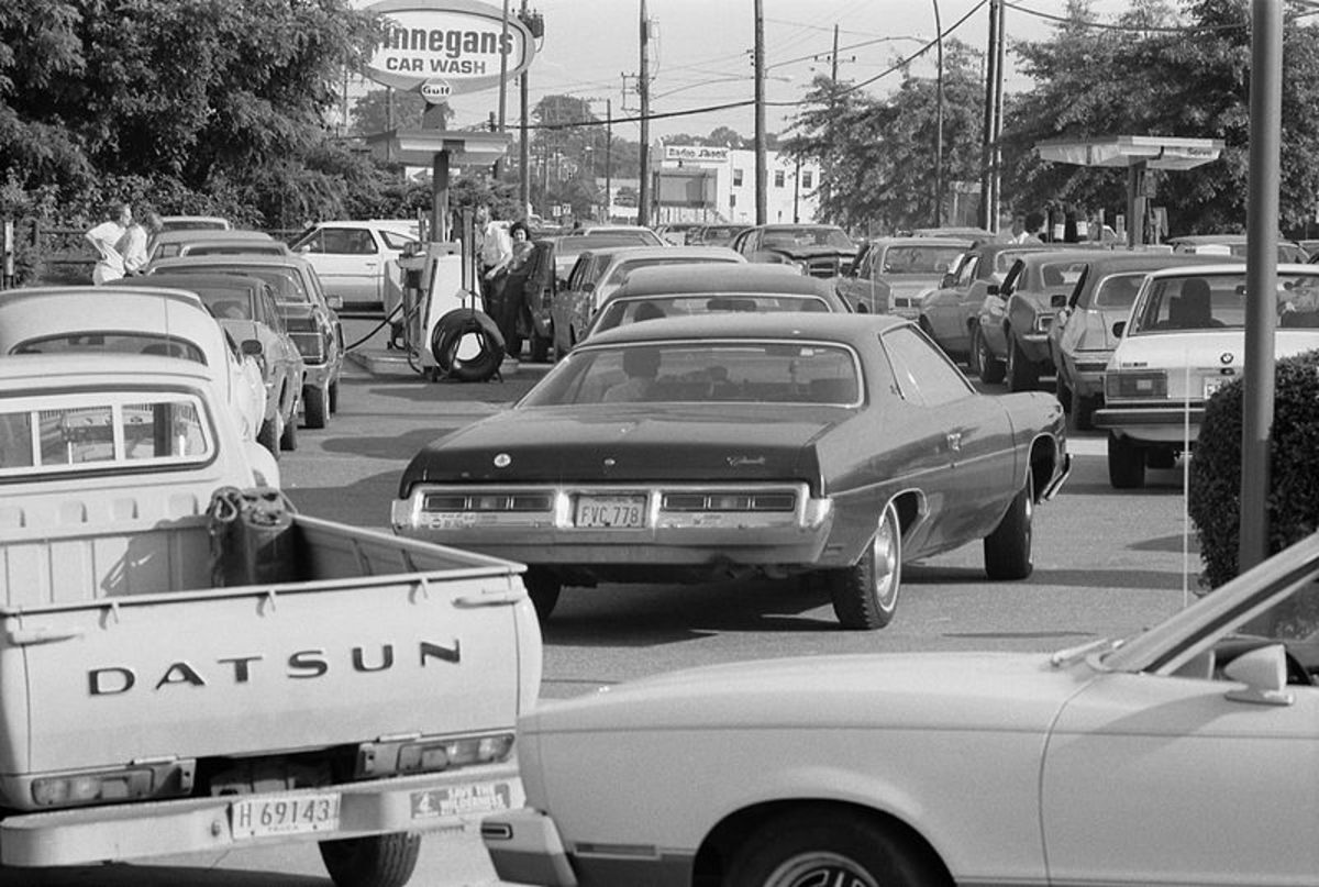The 1973 oil embargo changed the car business overnight. Fuel efficiency was now the top priority.
