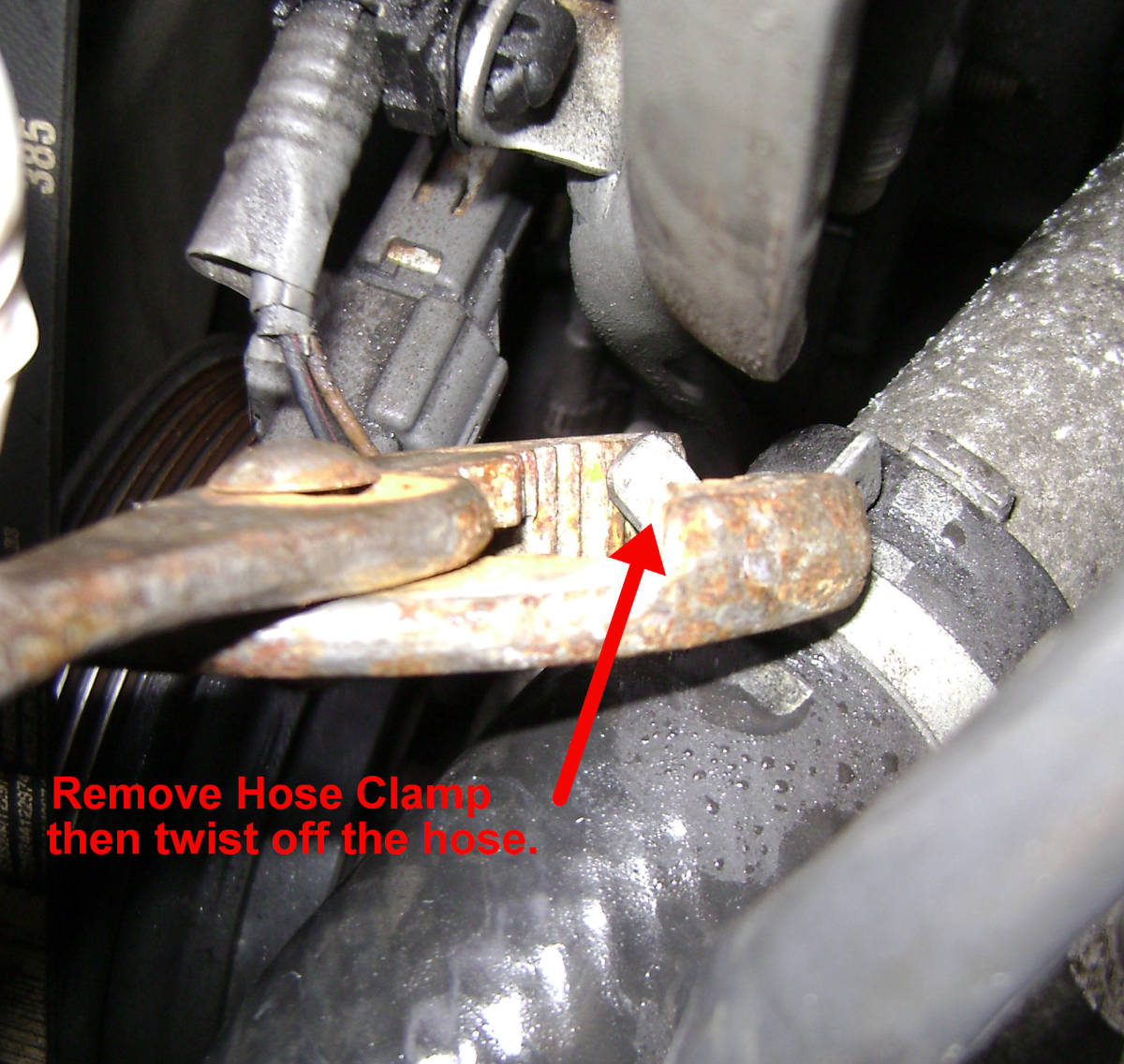 97 01 Toyota Camry Thermostat And Temperature Sensor