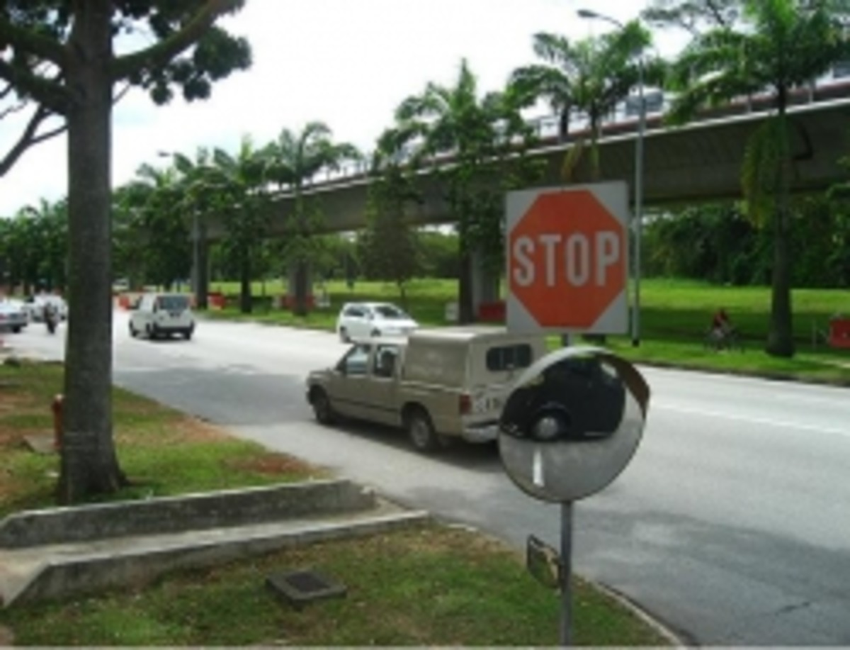 Bukit Batok Driving Centre - Test Route 1