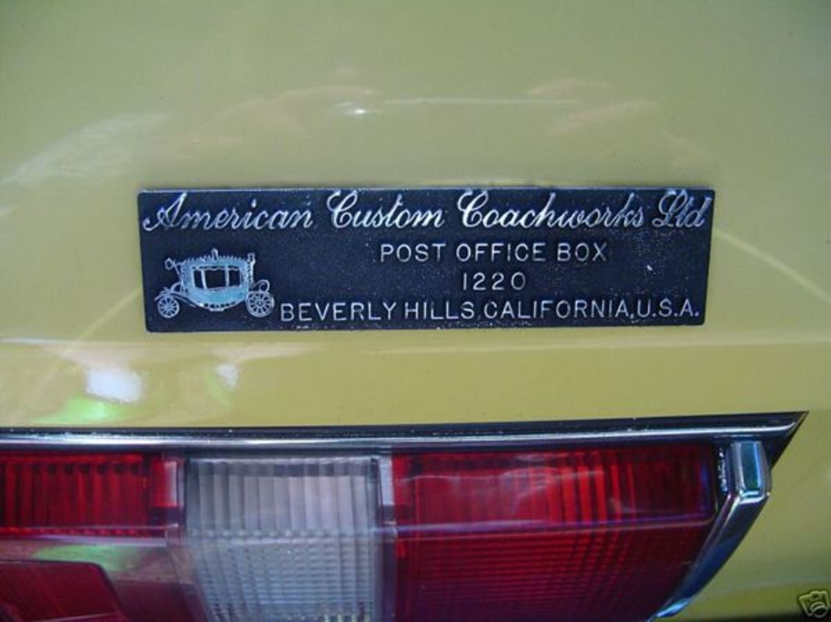 Conversion by American Custom Coachworks in Beverly Hills, California.