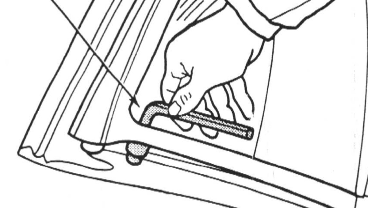 Fastening with hex wrench