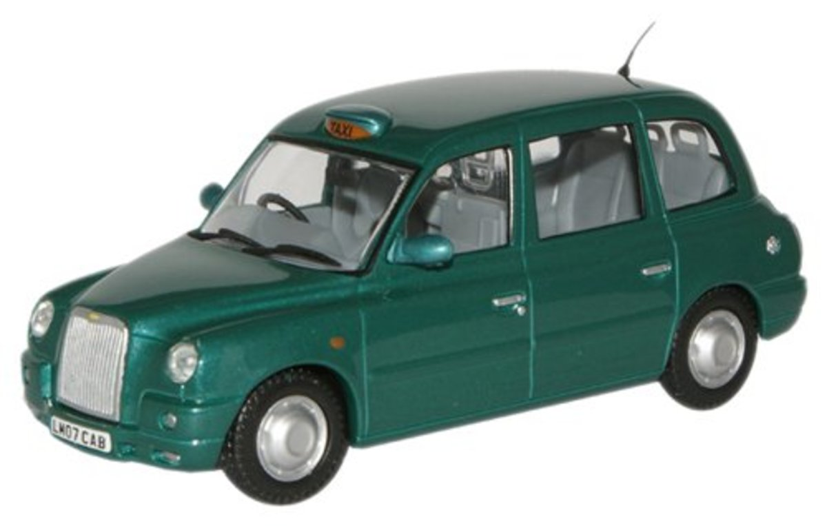TX4 taxi in green