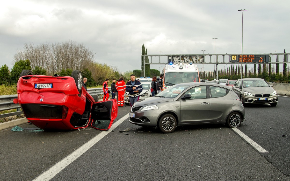 There's a 1 in 3 chance this accident was caused by road rage or aggressive driving.