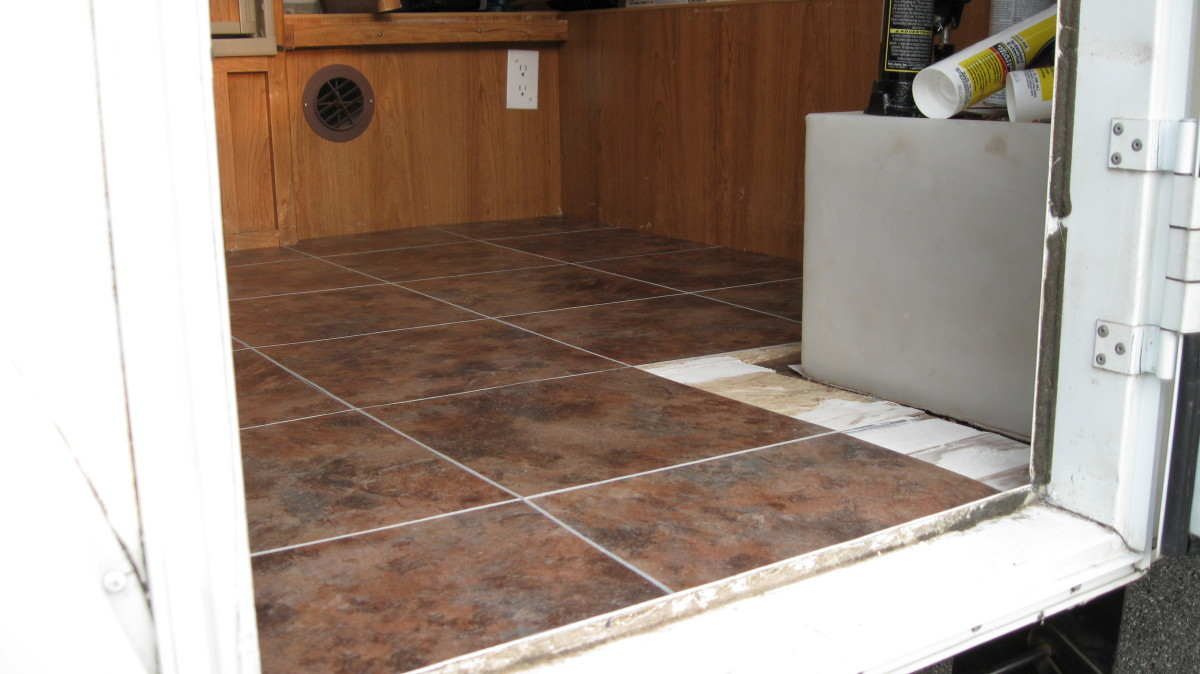 How To Replace The Floor And Roof Of An Rv Camper Or