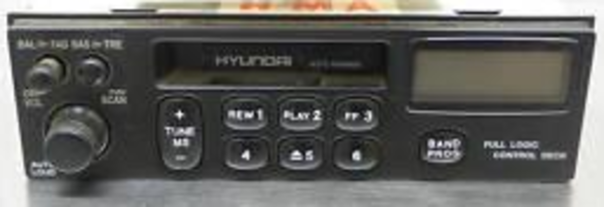 Original Hyundai Accent Radio