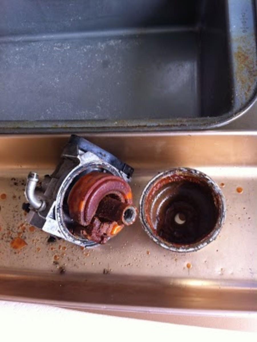Rusted carburetor