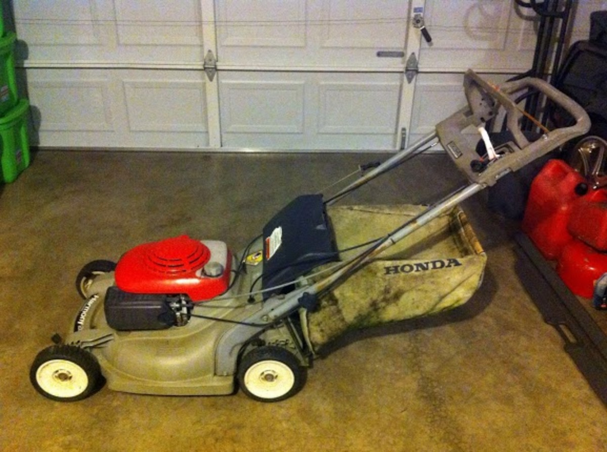 1994 Honda Harmony Mower Model # HRM215K1SDA