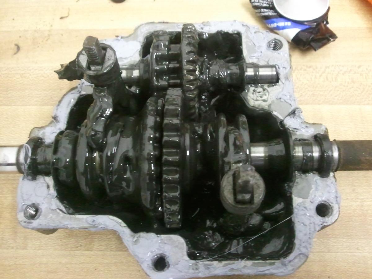 A K Inside The Honda Harmony Transmission