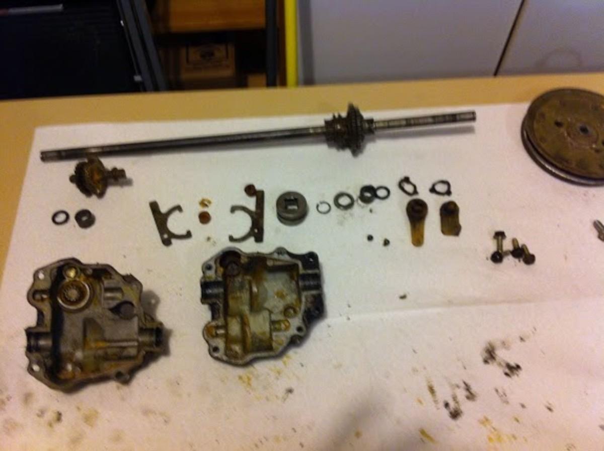 Internal parts
