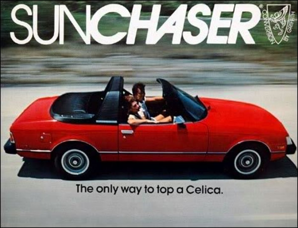 Sunchasers have a roll-bar and targa top.