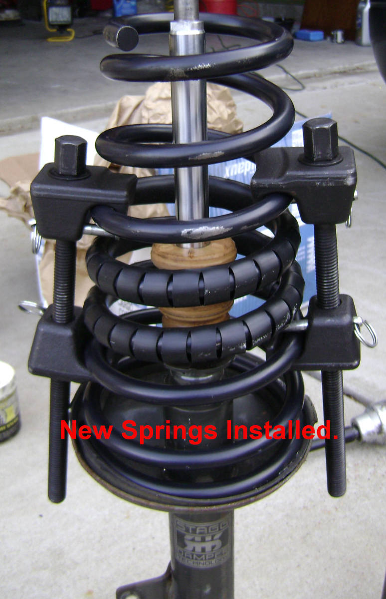 Replacing the Rear Strut and/or Coil Spring on a Toyota Camry (With