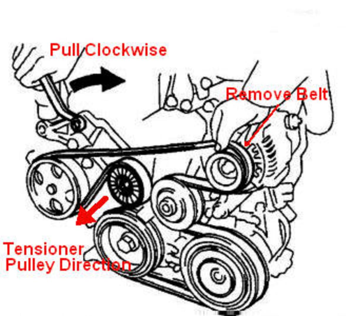 How to change serpentine belt? - GenVibe - Community for Pontiac ...