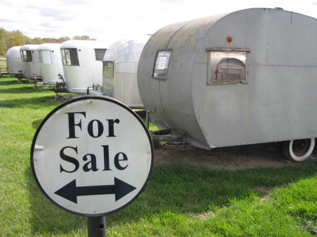 Vintage RVs for Sale.
