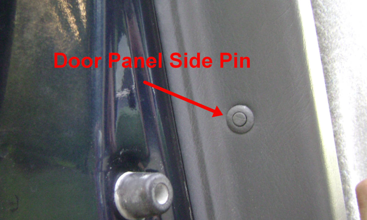 i. Door panel side pin