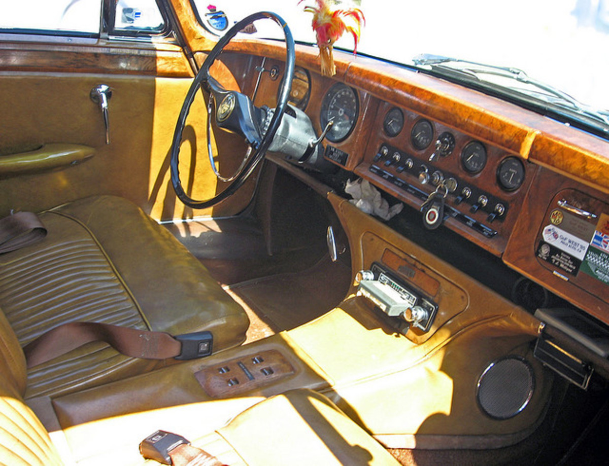 Jaguar Mark X Interior