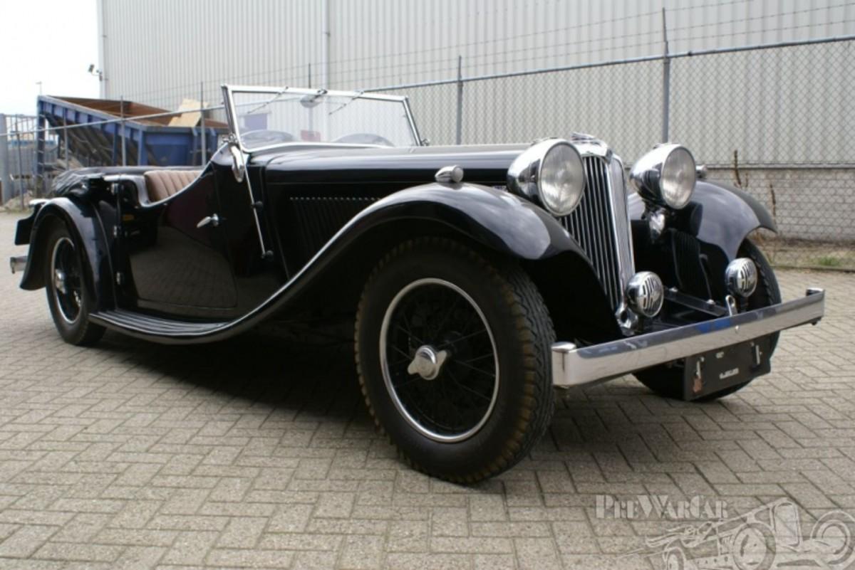 THE FIRST JAGUAR CAR: 1935 SS 1