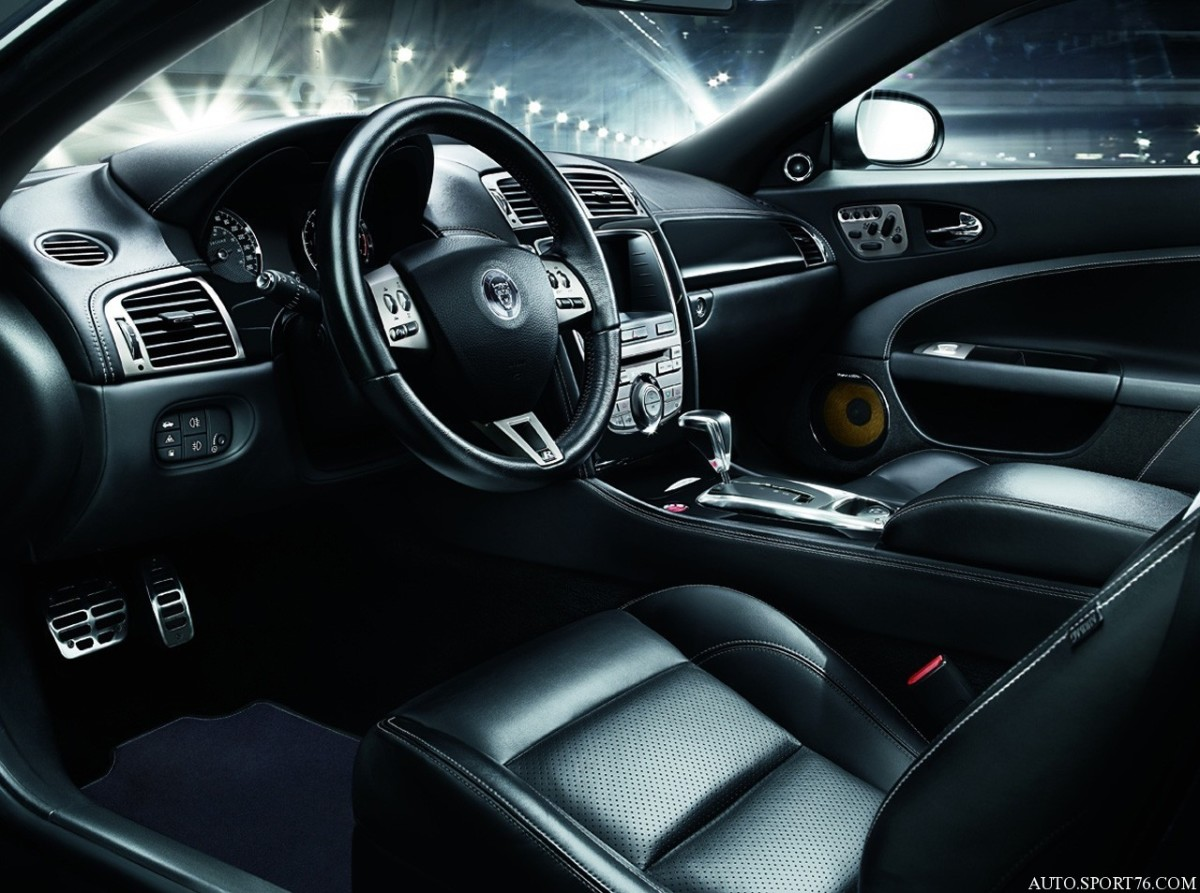 2012 JAGUAR XKR INTERIOR