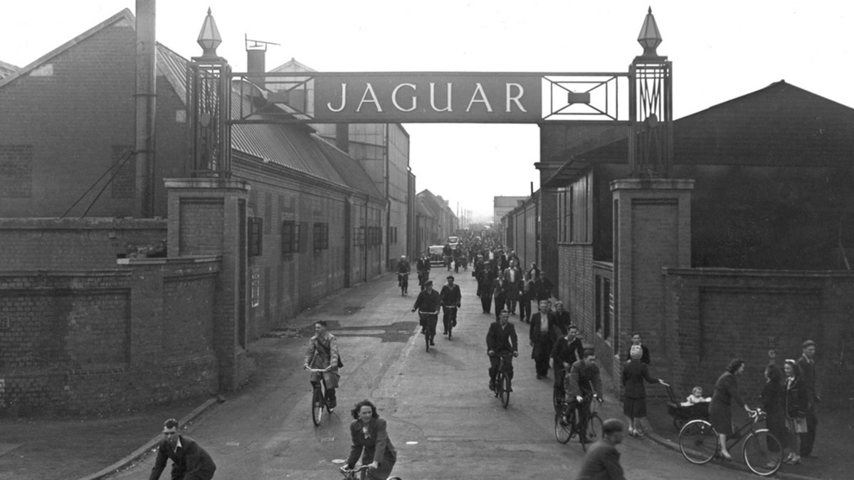 THE JAGUAR CAR FACTORY