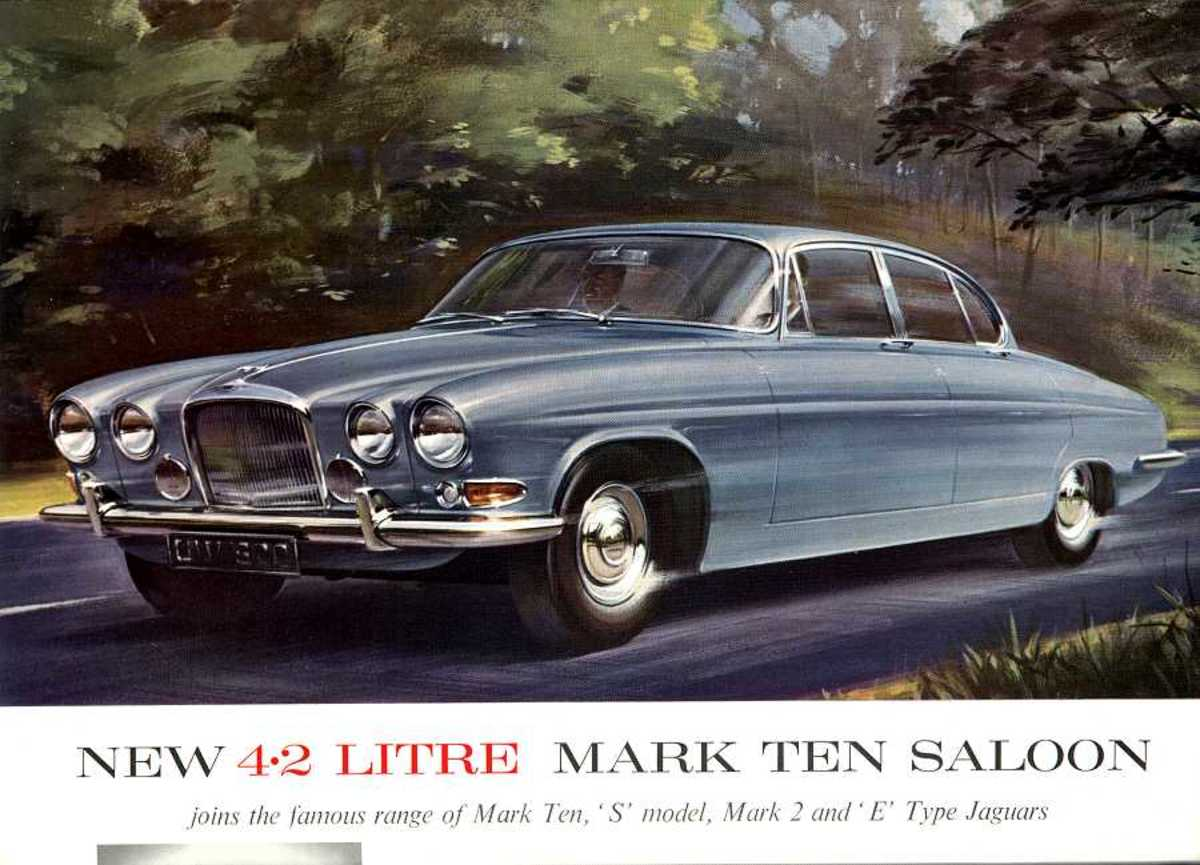 1962 Jaguar Mark X