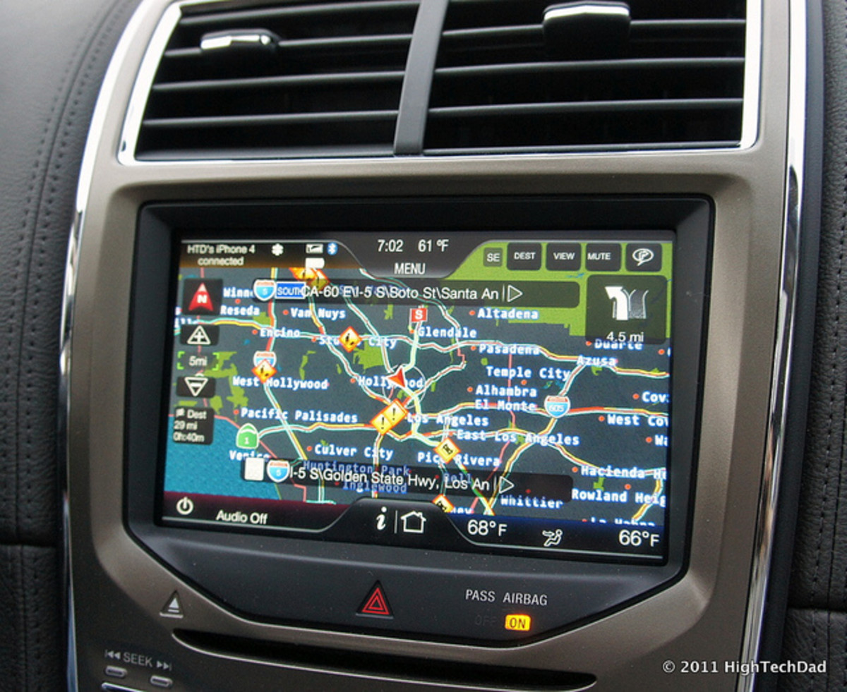 Let your GPS worry about looking for the turns so you don't have to stall traffic by looking for them yourself