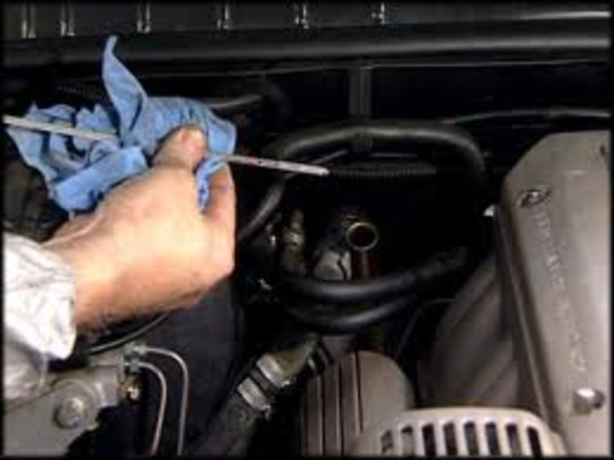 Be sure to check your owner's manual on how to check your transmission fluid.