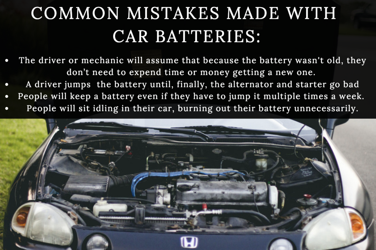 Learn The Most Common Mistakes People Make With Their Car Batteries