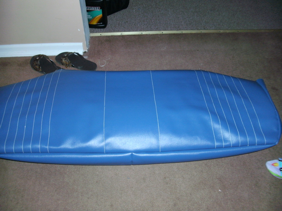 Pleats will give the seats more dimension and make them look more professional.