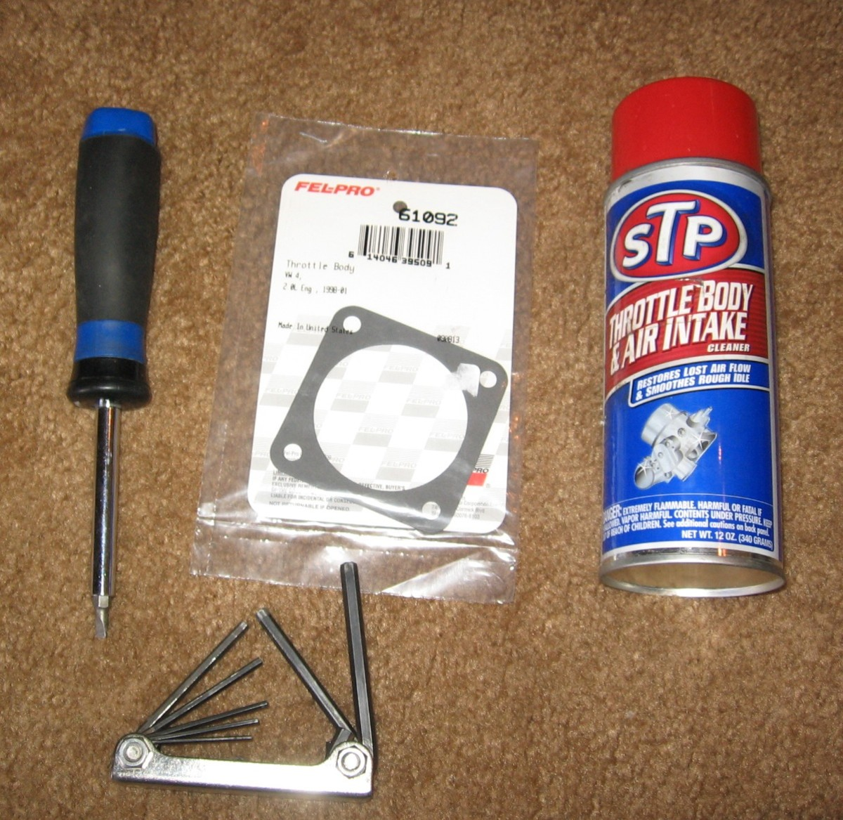 The Tools to Make That Throttle Body Shine!