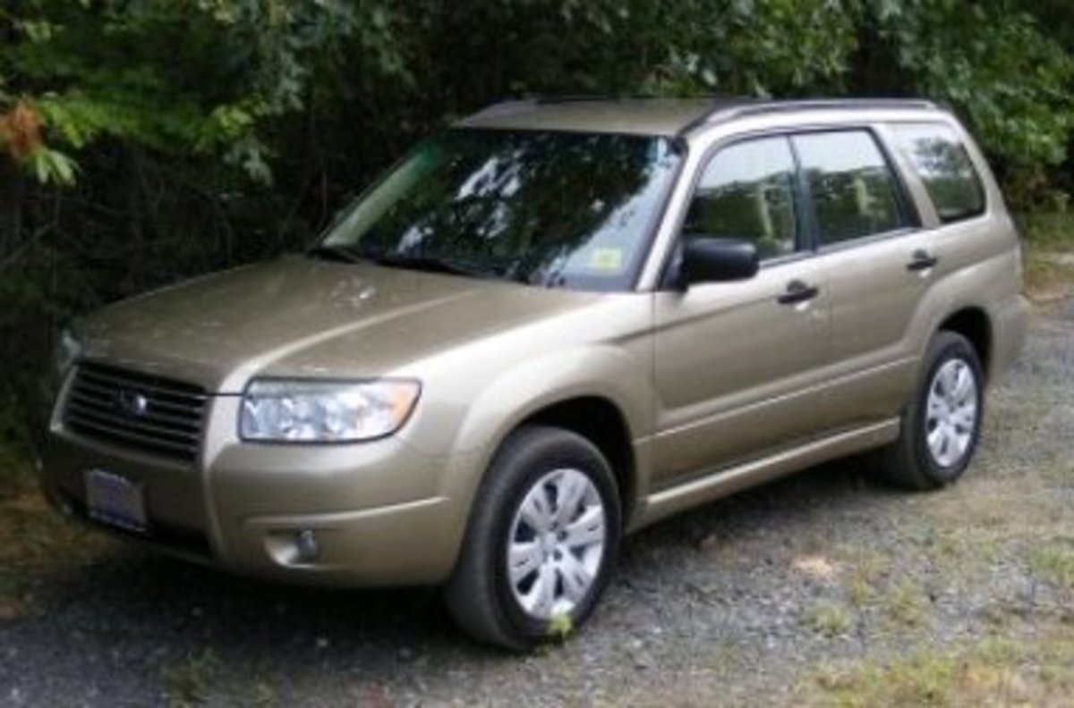 My 2008 Subaru Forester
