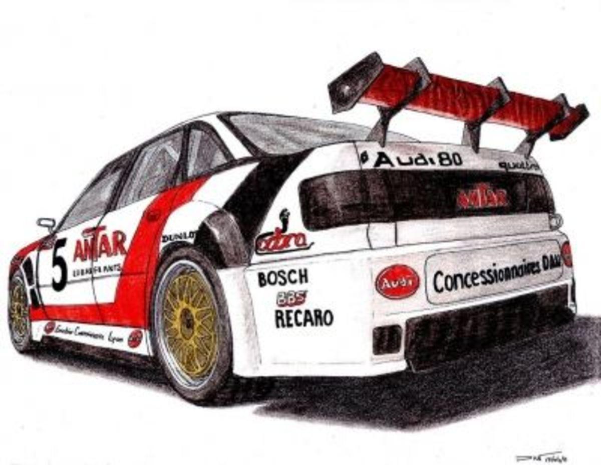 Audi Quattro by Twistedmethoddan