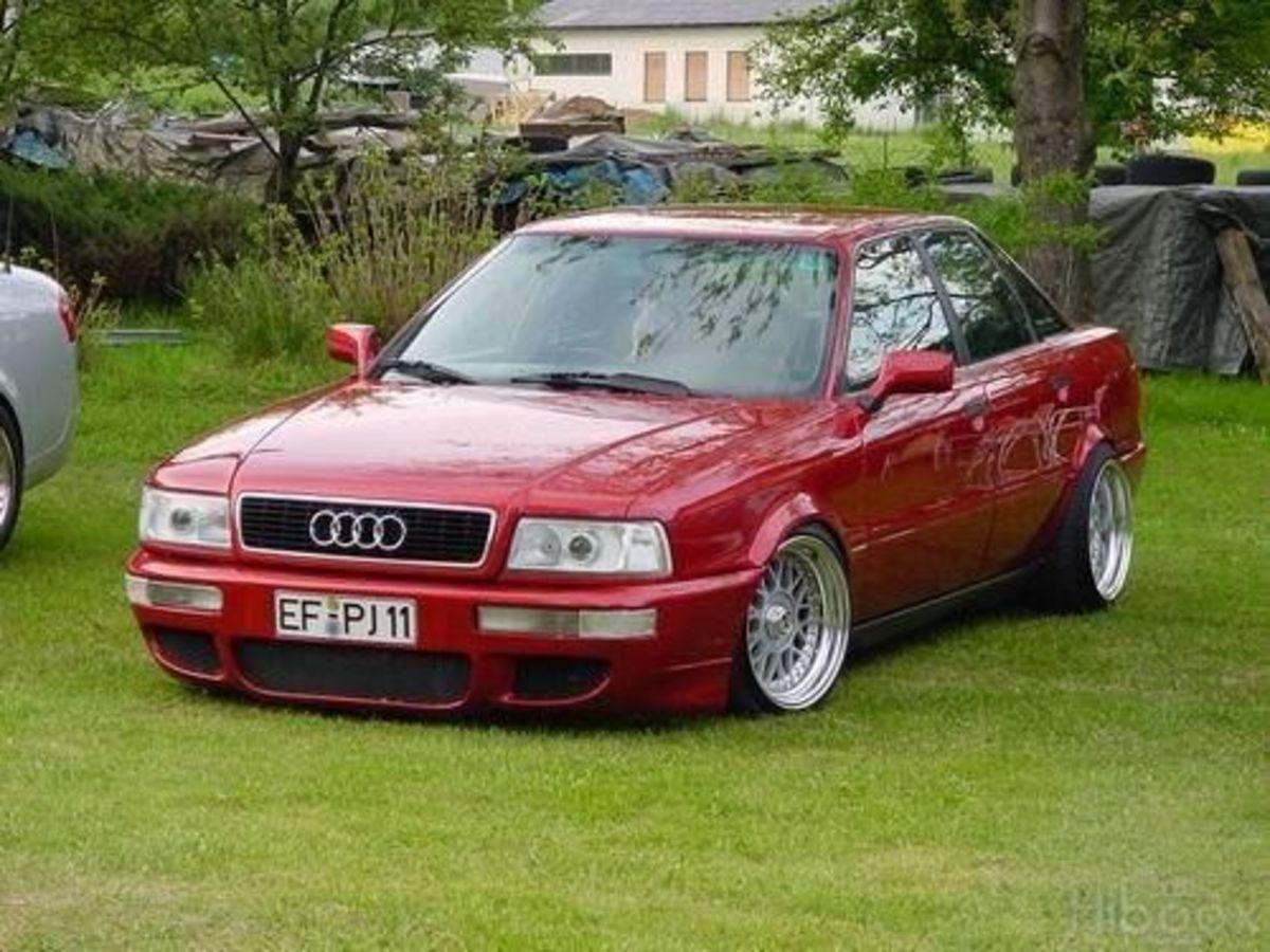 Audi 80 B4 slammed