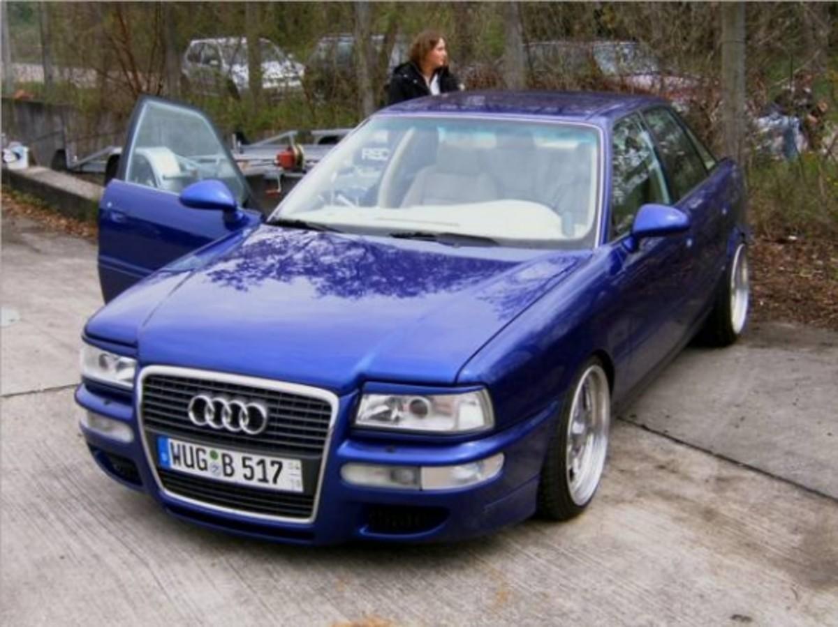 Audi 80 B4 facelift