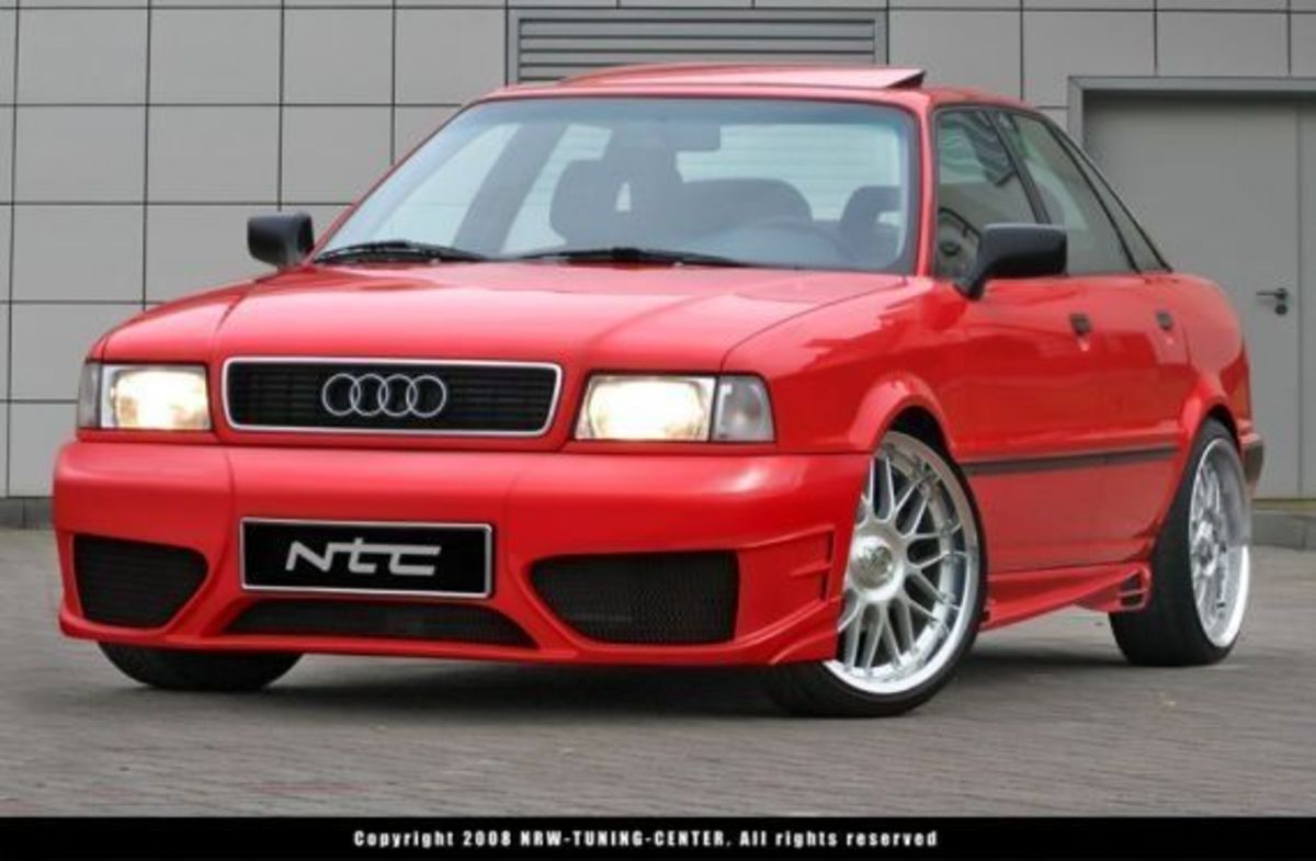 Modified Audi 80 B4