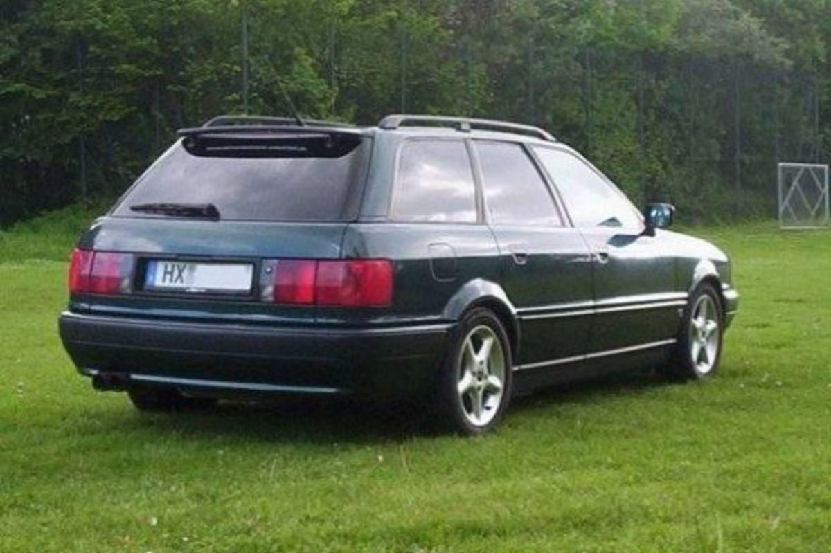 Clean Audi 80 B4 Advant