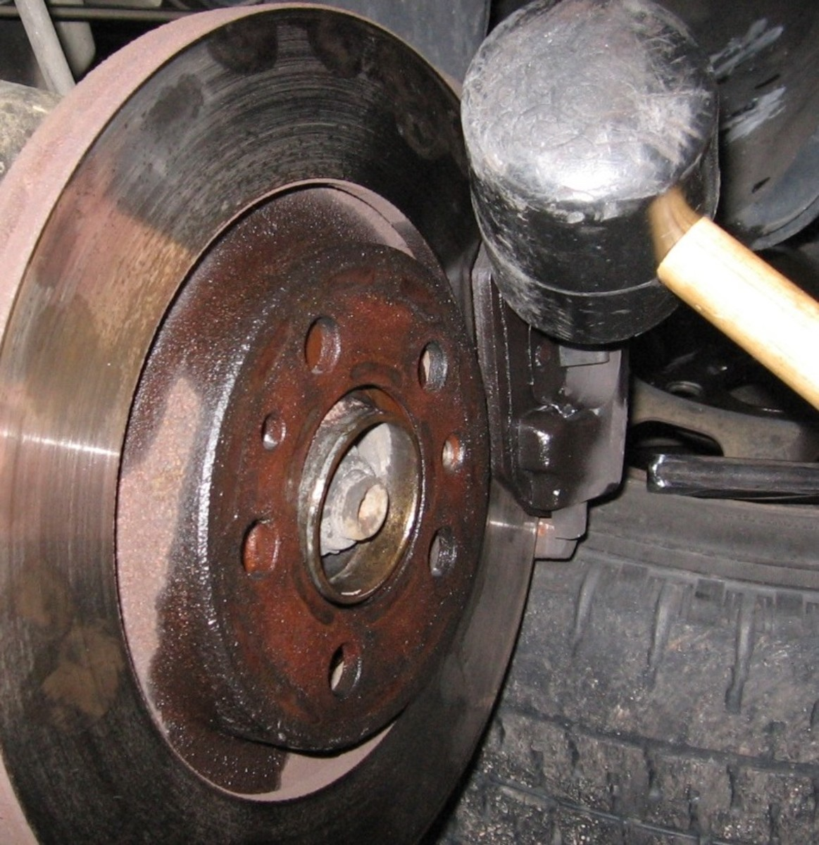 Images Of Bad Calipers : Mkiv jetta golf l how to change front brake pads and