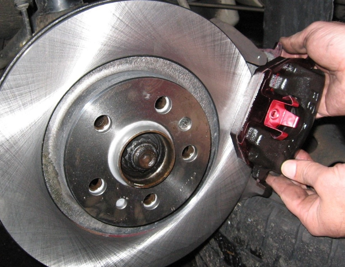 MKIV Jetta Golf 2 0L: How to Change Front Brake Pads and