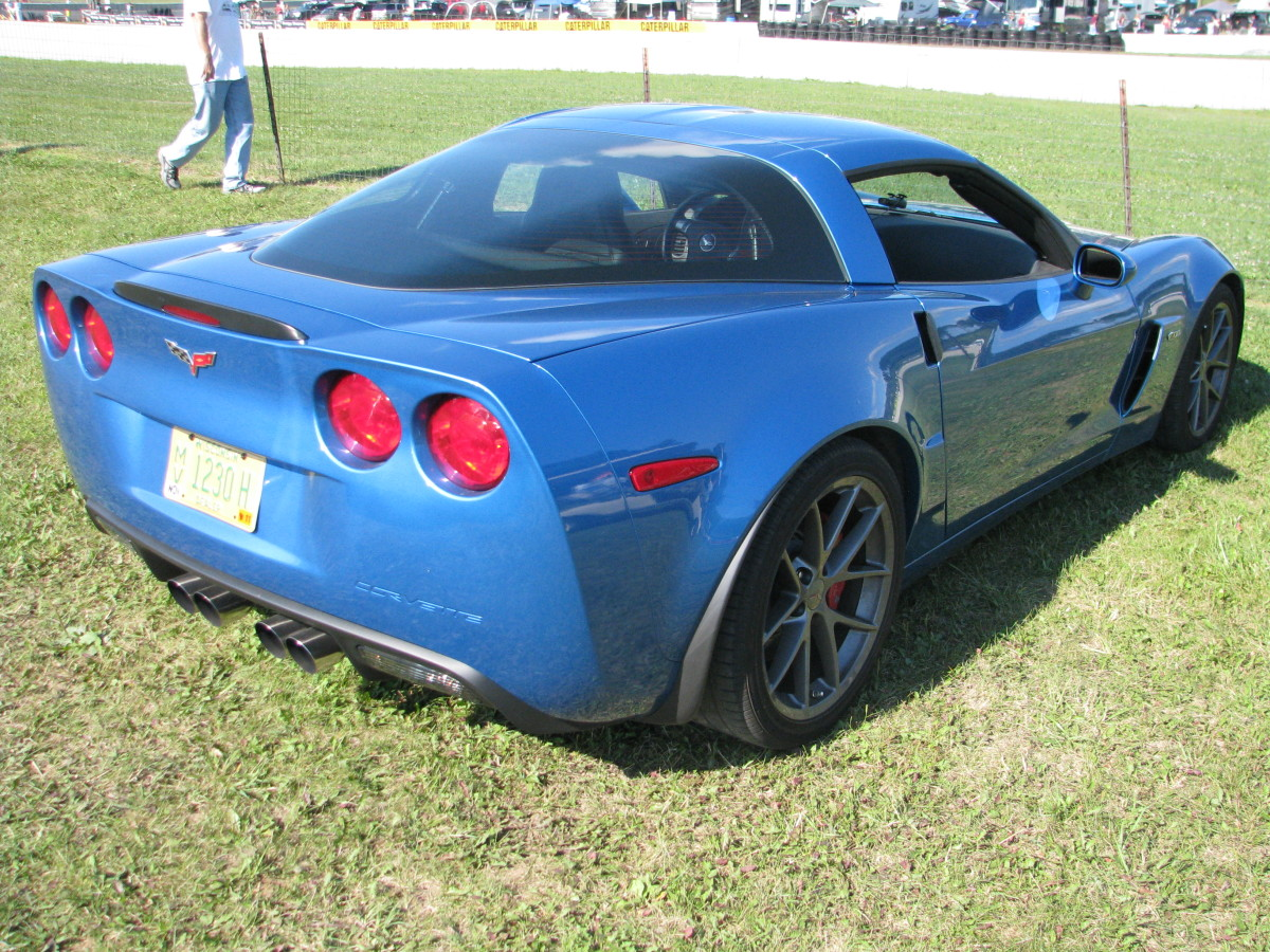 Chevrolet Corvette back view
