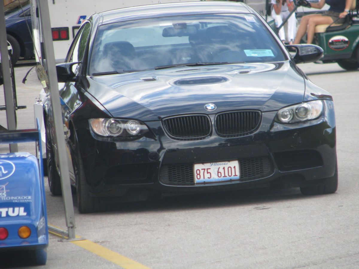 BMW M3 front view