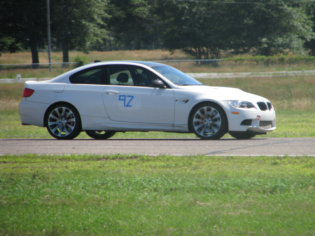 The BMW M3 at a track day in Minnesota