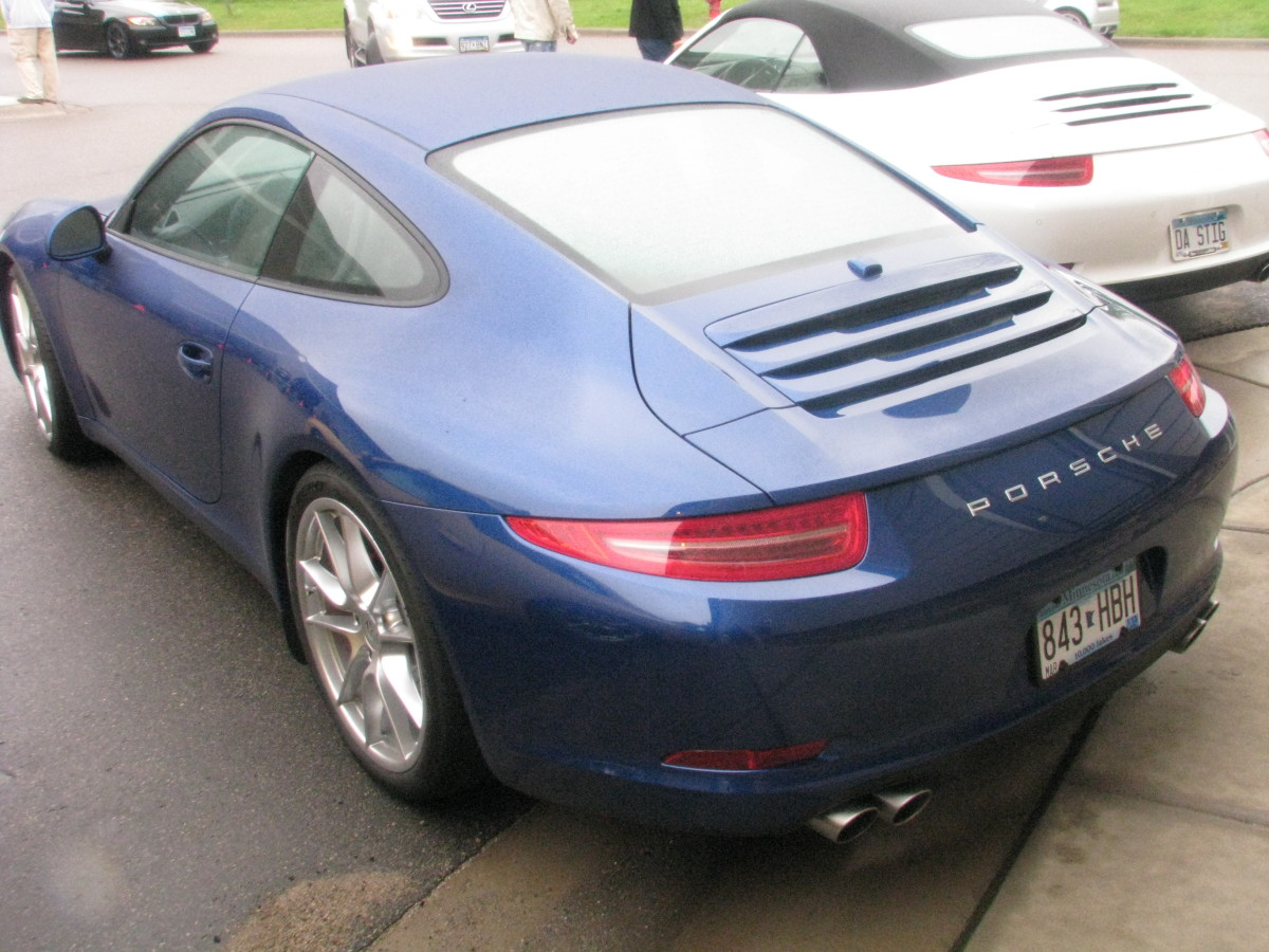 The brand new Porsche (991) 911 Carrera S