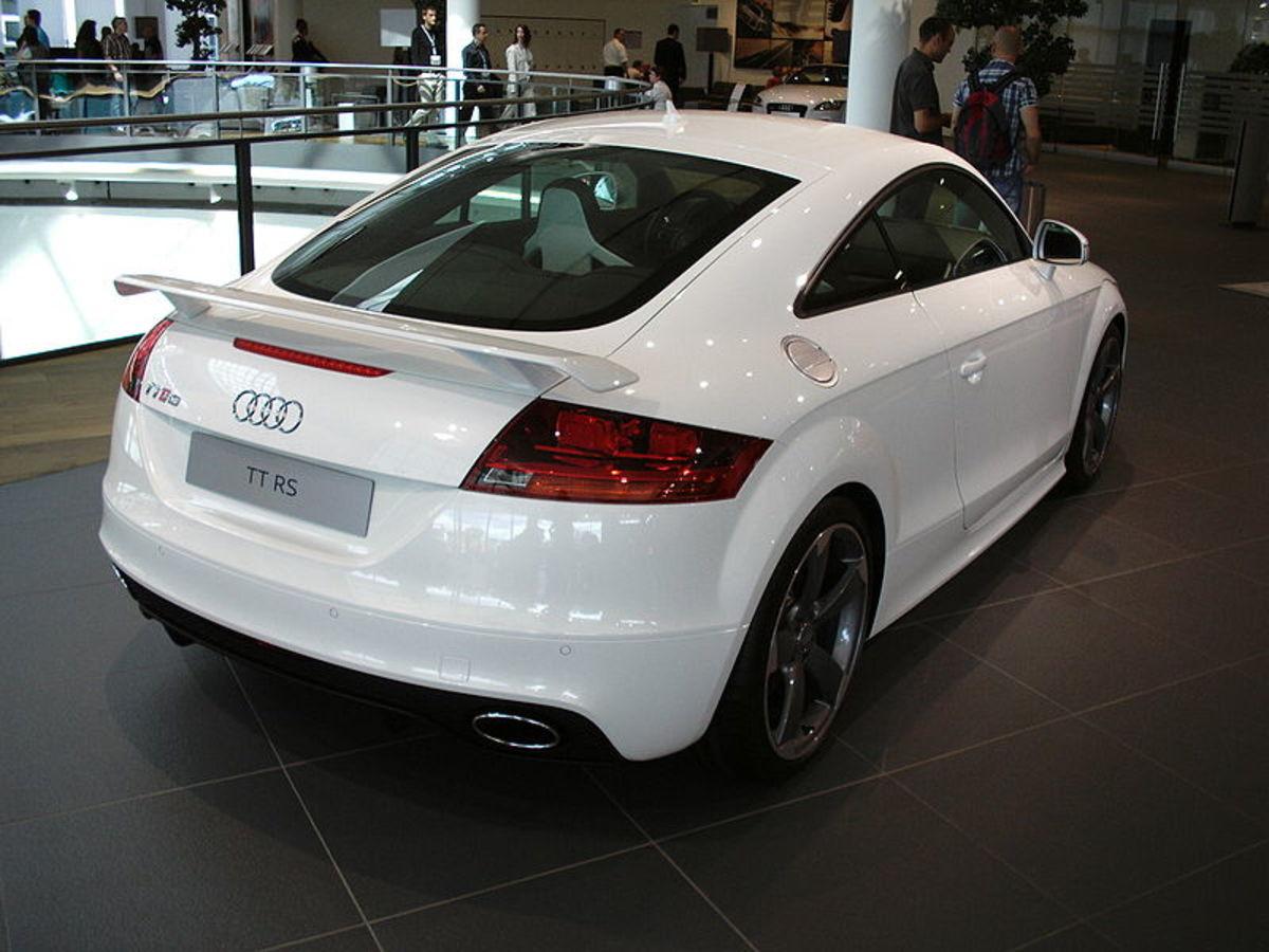 Audi TT-RS back view