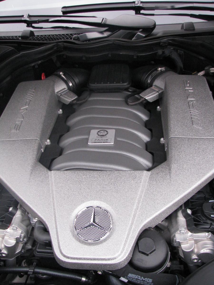 AMG's fantastic V8