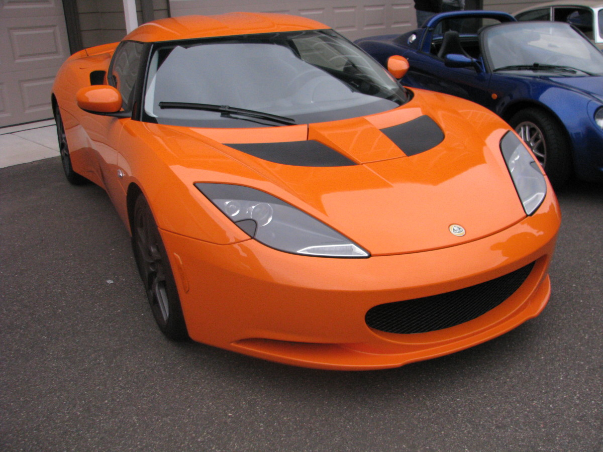 Lotus Evora S front view