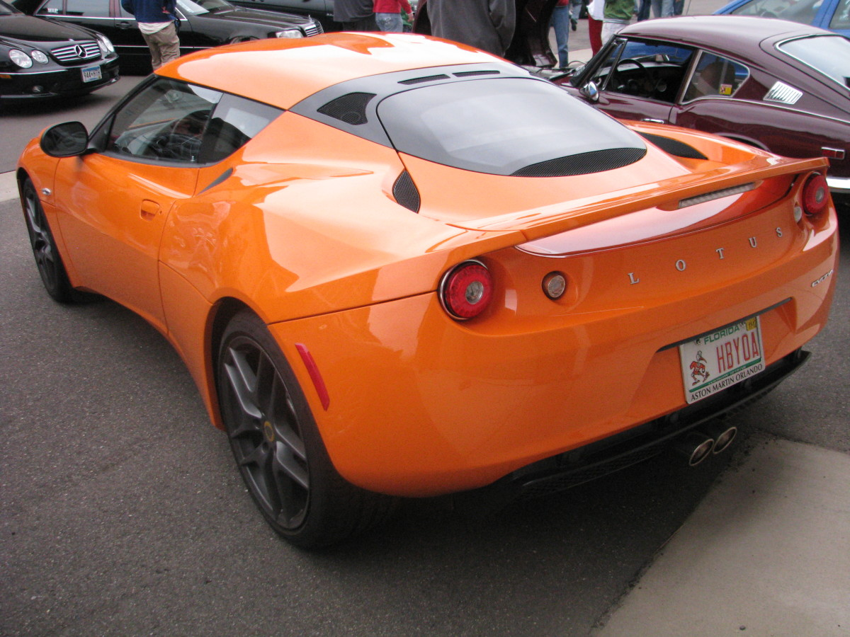 Orange Lotus Evora S